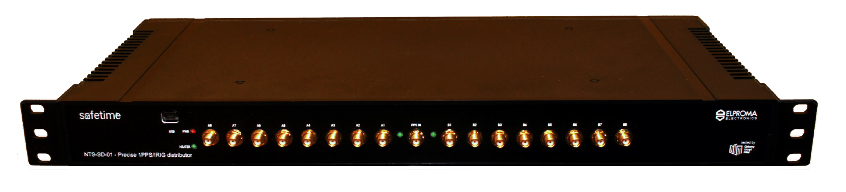 NTS-SD-01 Precise 1PPS/IRIG-DCLS distributor